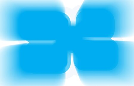 cyan business: Horizontal blue cyan business abstract illustration background Stock Photo