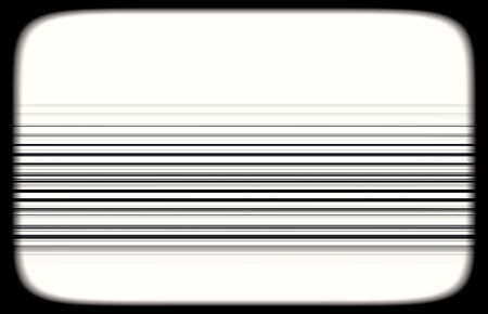 tvset: Horizontal black and white tvset static lines illustration background