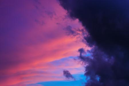cloudscape: Horizontal cloudscape cyclone background
