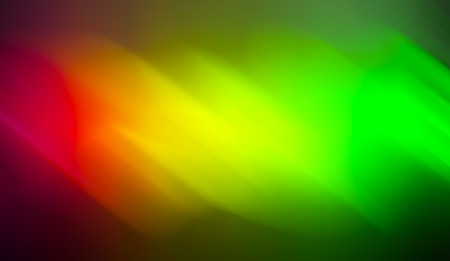 Horizontal red yellow green blurred abstraction backdrop Stock Photo