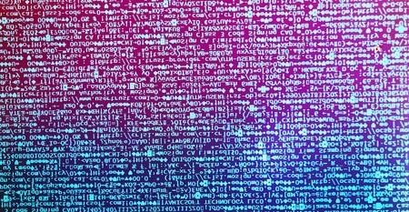 computer code: Diagonal dual tone computer code background