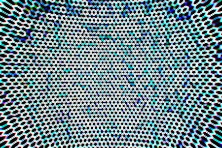 grid background: Cold cyberspace grid bokeh background