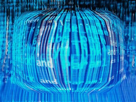 crt: Computer matrix background hd