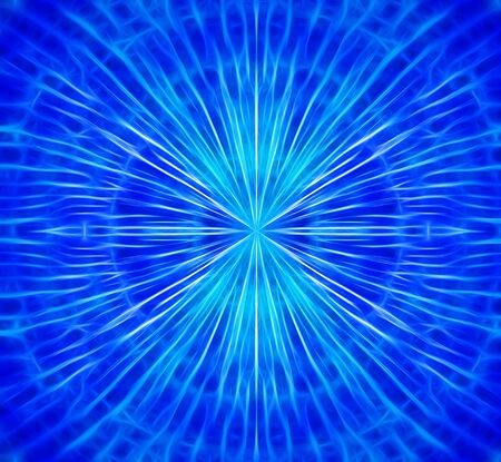 Blue electric charges background hd