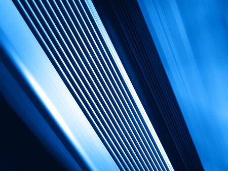 slow motion: Diagonal blue motion blur panels background hd