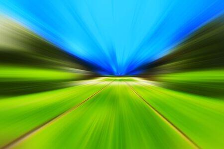 slow motion: Summer rush motion blur background hd