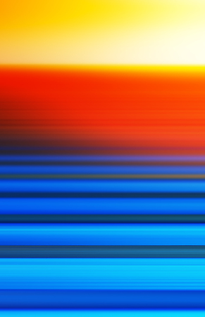 Vertical ocean motion blur with sunset background hd