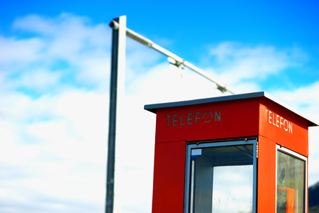 cabina telefonica: Norway telephone booth backdrop hd