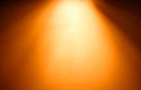 Top orange ray of light bokeh background hd Stock Photo
