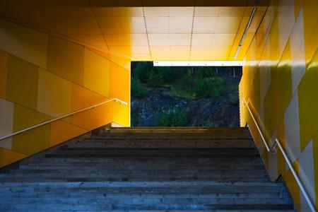 upstairs: Horizontal upstairs in Oslo city background hd