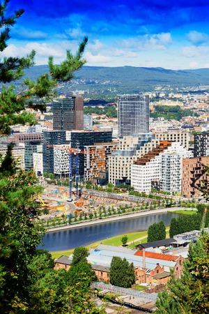 oslo: Oslo city cityscape background  hd