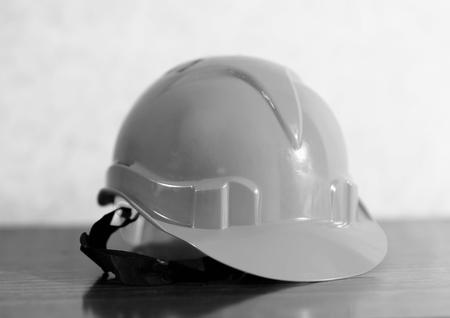 elementos de protección personal: la construcción del casco blanco y negro de fondo hd