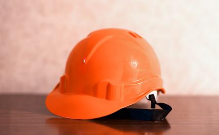 elementos de protección personal: construcción fondo naranja casco hd
