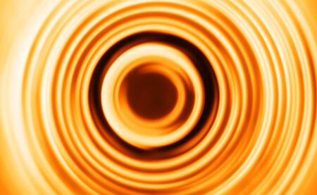 Orange motion blur teleport swirl background hd Stock Photo