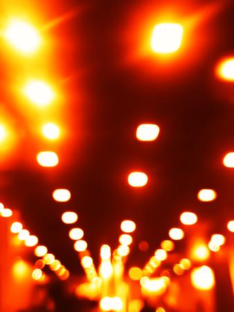 Verticale oranje nacht lampen achtergrond hd