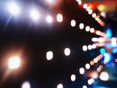 Diagonal illumination bokeh background hd