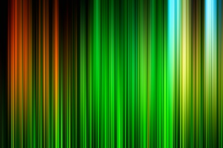 Vertical green and red motion blur background