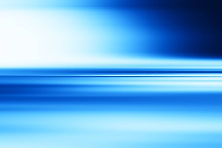 Horizontale blauwe motie vervagen oppervlak achtergrond Stockfoto