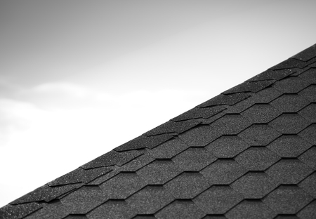 Roof tiles line background