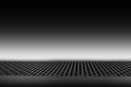 Horizontal black and white carbon surface