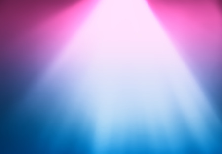 Dramatic pink and blue neon light from the top background hd Stock Photo