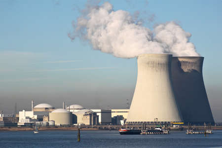 radiation pollution: Nuclear power plant