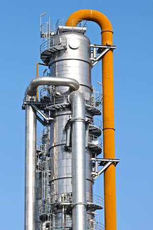 destilacion: La torre de destilación