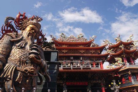 idool: Is het traditionele god reus in Taiwan.
