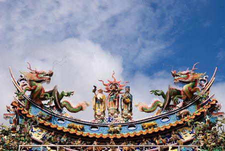 Es ist traditionelle Gott Idol in Taiwan.