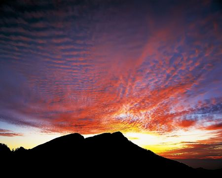 It is a beautiful clouds of sunrise. Stock Photo - 4947440