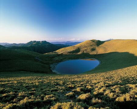 Here is the beautiful mountain in taiwan.