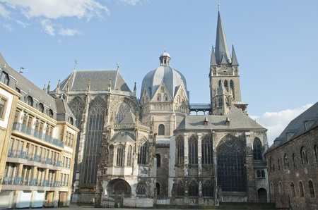 Aachen cathedral is the oldest Roman Catholic church in northern Europe ,europe  photo