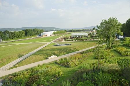 bundesgartenschau: Buga horticultural exhibition in koblenz ,germany,europe.