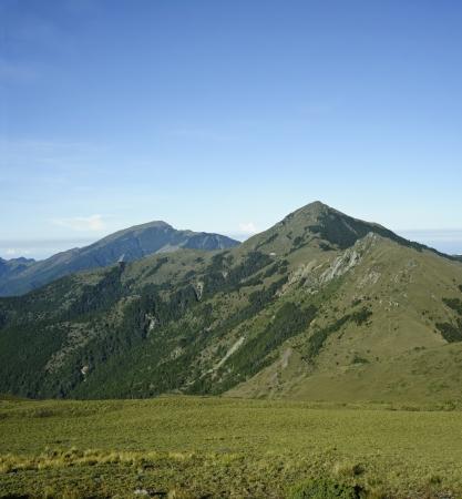 Berglandschaft im Yushan-Nationalpark.