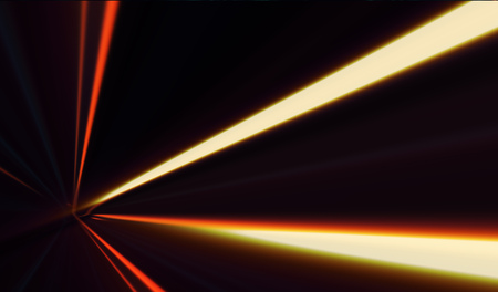 Abstract image of speed motion on the road at dark Banco de Imagens