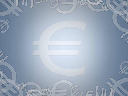 european euro: european euro economy abstract background