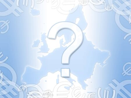 economy crisis: european euro economy crisis abstract background