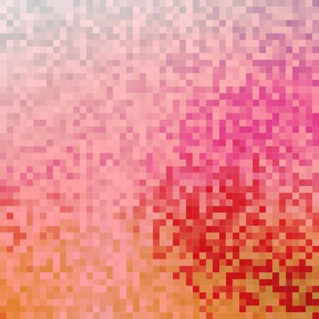 noisy: Noisy, tiled abstract background with shades of red, vector, pixel