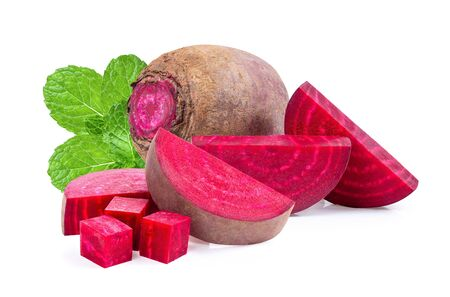 beetroot  isolated on white background Imagens