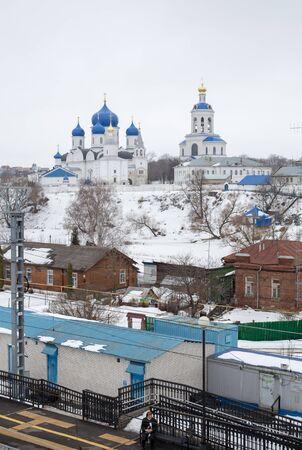 bogolyubovo: Bogolubovo Station, Golden Ring of Russia Stock Photo