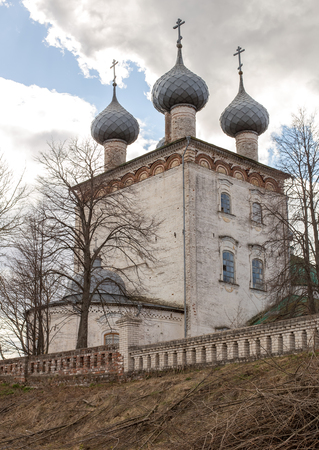 Church of the Dormition of the Theotokos. Big Vsegodichi of the Vladimir region. It is constructed in 1777