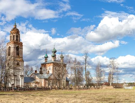 Church of the Nativity of the Blessed Virgin Mary Ivanovo region, Savinsky district, Shapkino village
