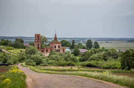 Church of the Icon of the Mother of God All Grieving Joy, the Vladimir region, the Yuryev-Polsky area, the village of Nenashevskoye