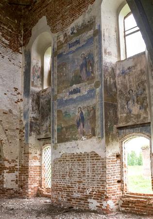 Nicholas The Wonderworkers church, Vladimir region, Suzdal district, village of Vysheslavskoye