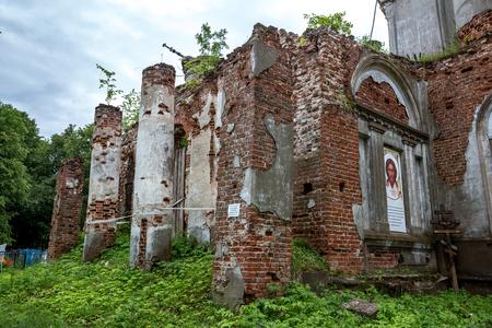 Church of the Nativity of the Virgin, Vladimir region, Sudogodsky district, village of Aleksandrovo Фото со стока