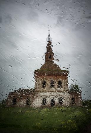 Cosmas and Damians church, Vladimir region, Suzdal district, village Semyonovskoye-Sovetsky