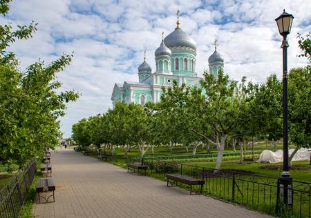 Holy Trinity Saint Serafim-Diveyevo Monastery Фото со стока