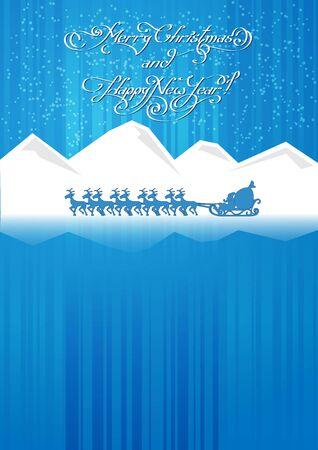 carries: Babbo Natale porta i regali di Buon Natale