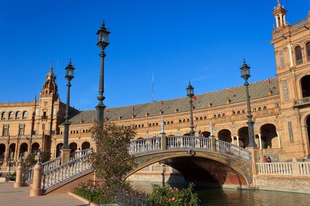Plaza de Espana - Seville Stock Photo - 11240717