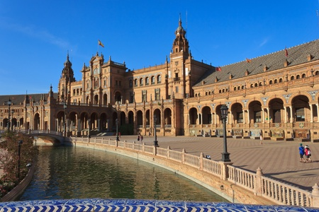 Plaza de Espana - Seville 新聞圖片
